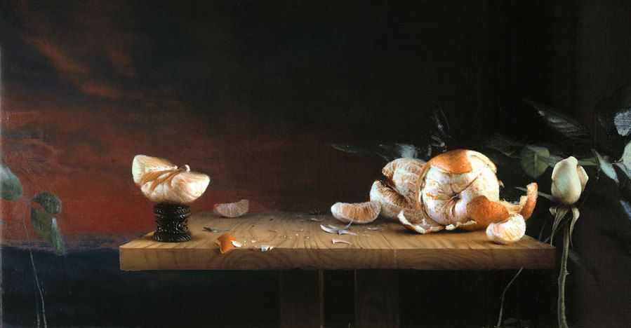 http://theartattacks.tumblr.com/post/72869750907/the-paintings-of-daniel-sprick-daniel-sprick-was