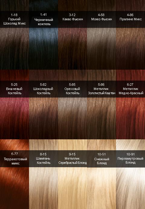 Лонда краска для волос: палитра 62