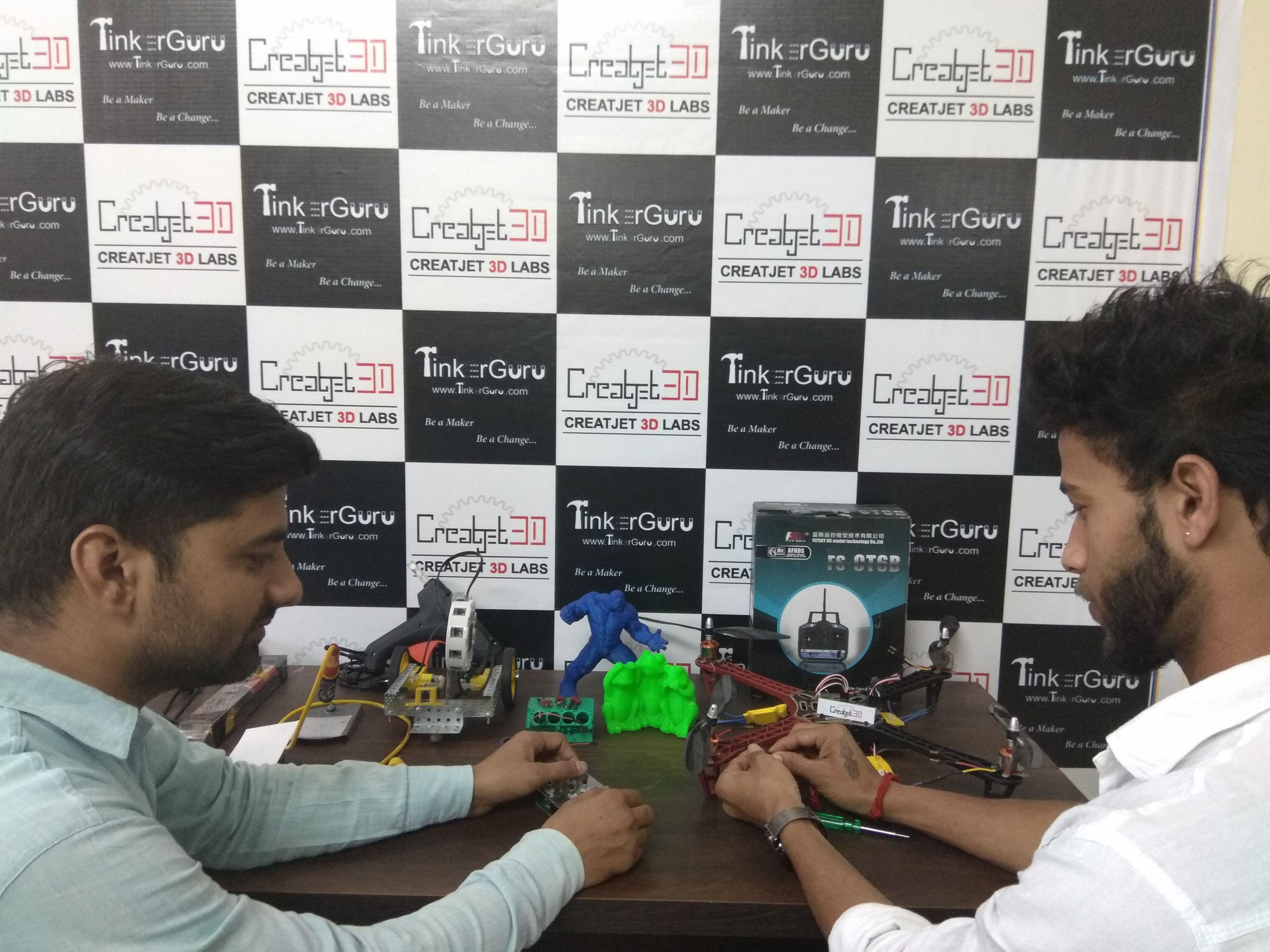 Creatjet 3d labs working on diy drone project diy