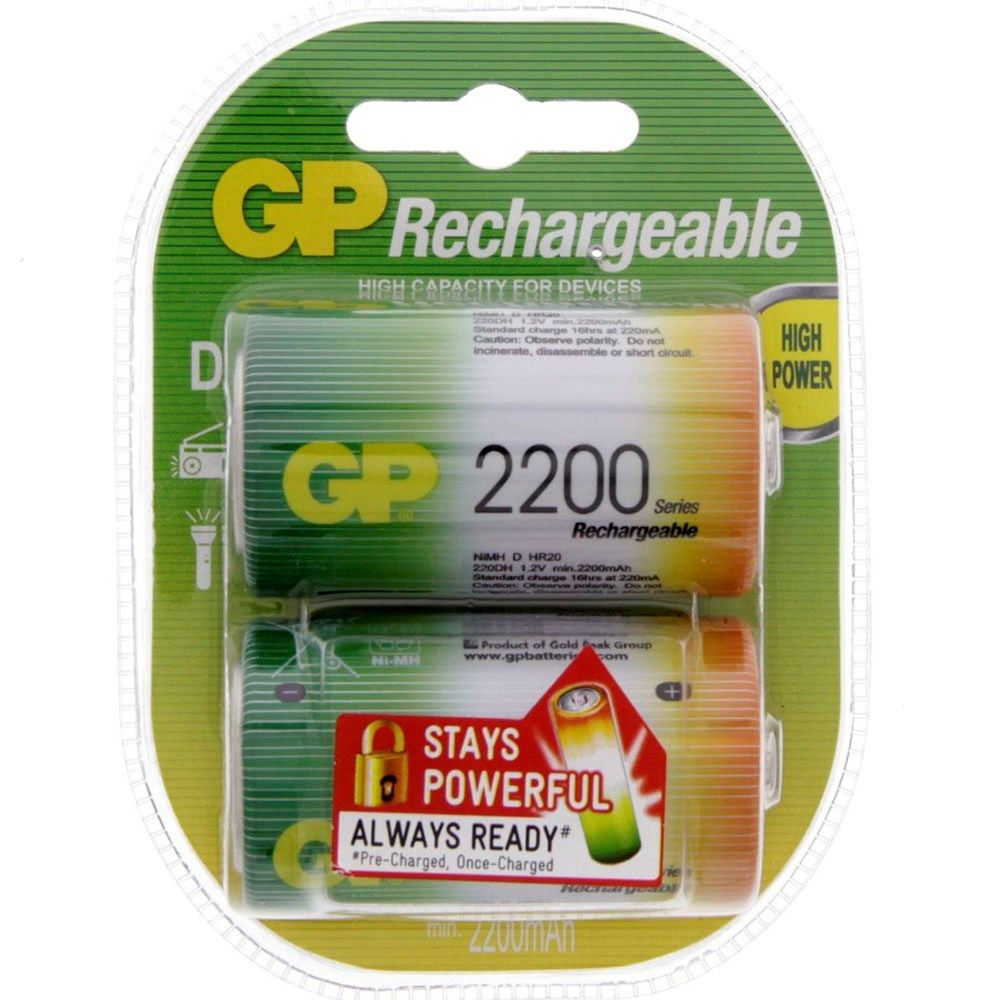 Buy Gp Rechargeable D Battery 220dh 2uec2 Online In Uae Dubai Qatar Kuwait Oman For Best Price Shop On Luluwebstore Lulus Online Grocery Shopping Shopping