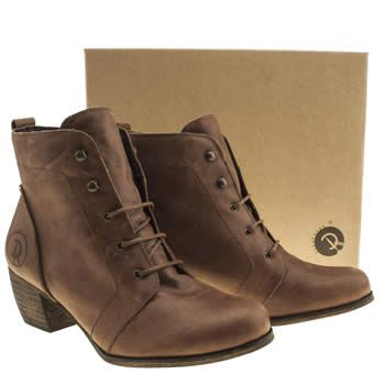 Womens Tan Red Or Dead Exam Boots   Tan