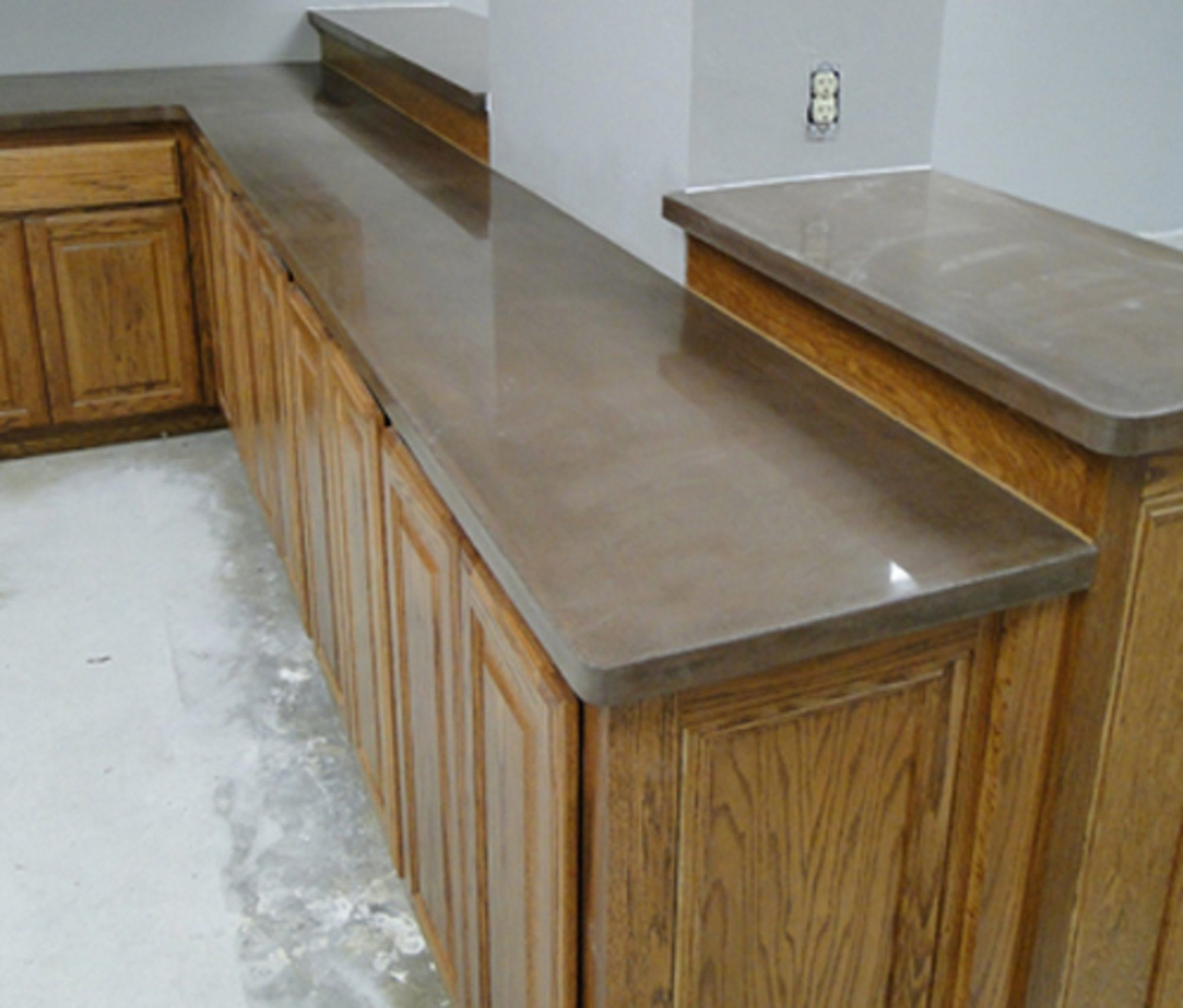 Crushed Glass Aggregate - DirectColors.com | Concrete countertops ...
