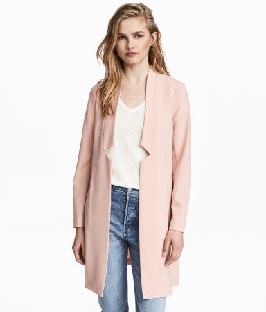 Lang blazer | Pudderrosa | Dame | H&M NO