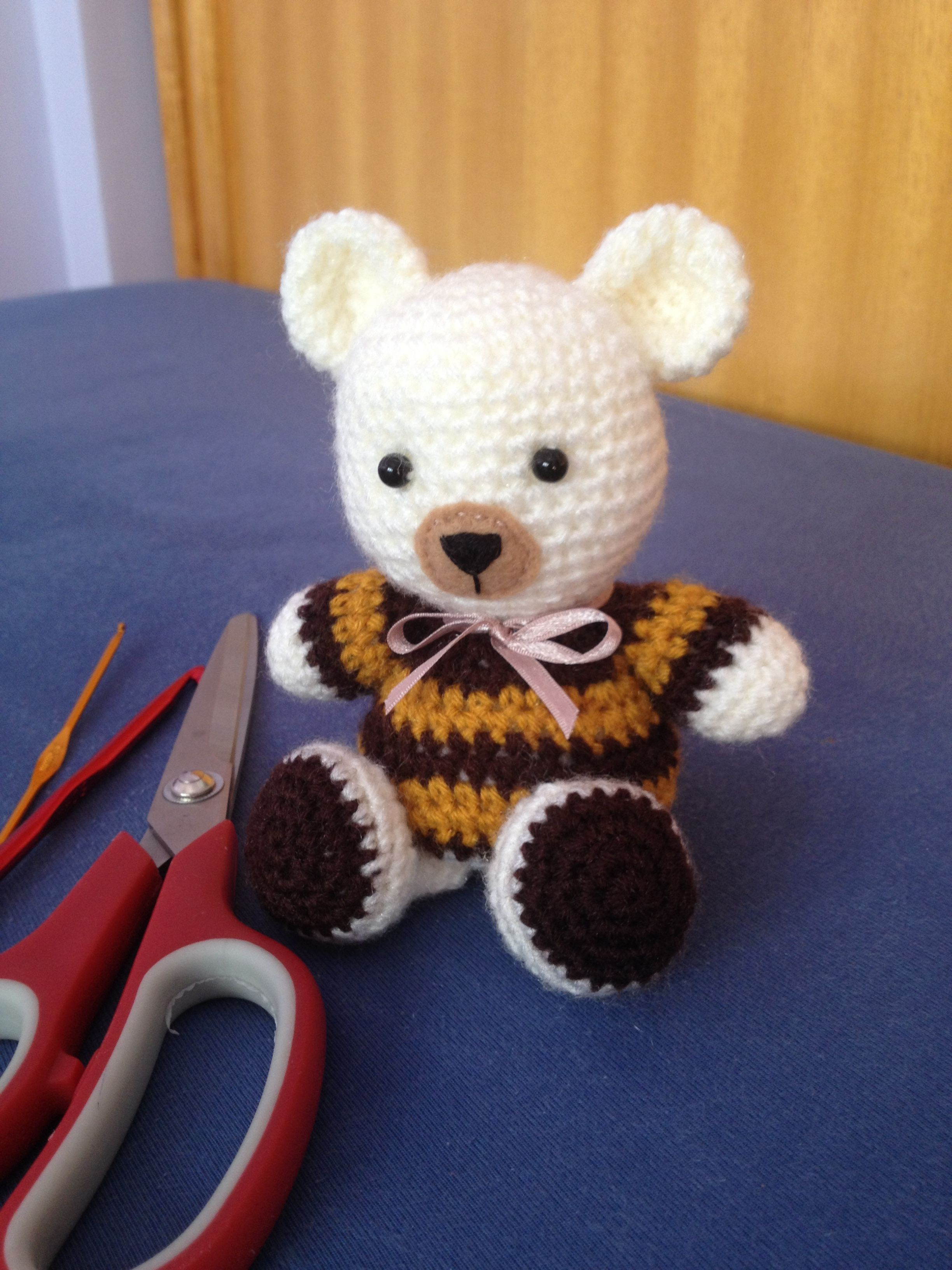 Amigurumi little bear Urso amigurumi   Crochês/Amigurumis   Pinterest