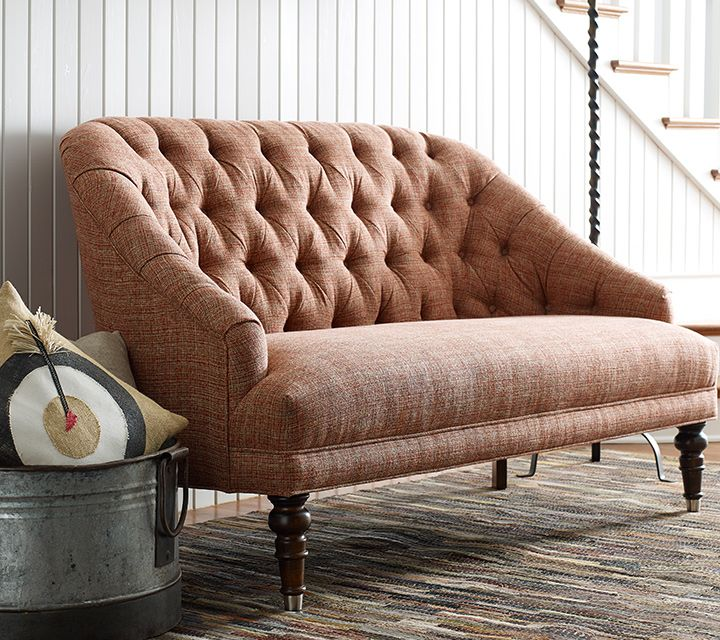 Rachael Ray Home Upstate Collection: Tufted Settee | Holiday ... on