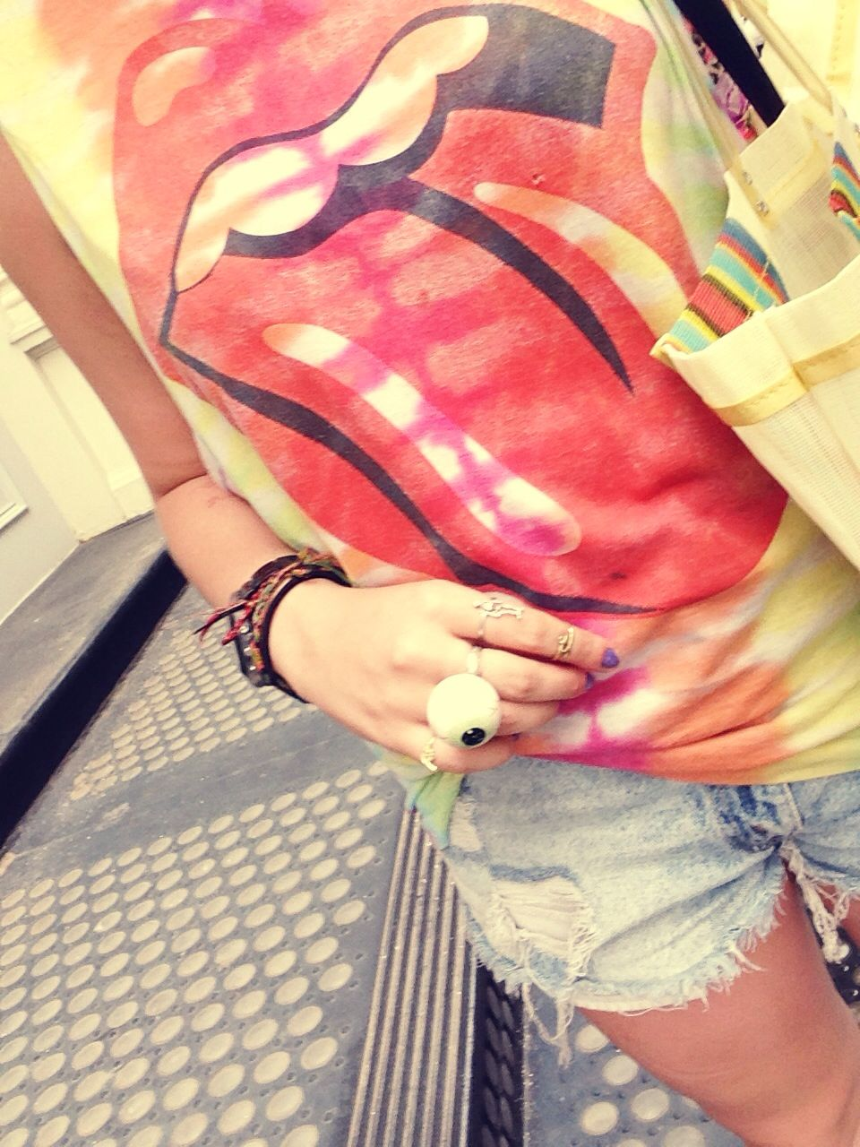 I love vintage stones tees--especially when they are tye dye