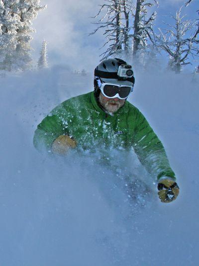 #powder #skiing www.brundage.com #faceshots