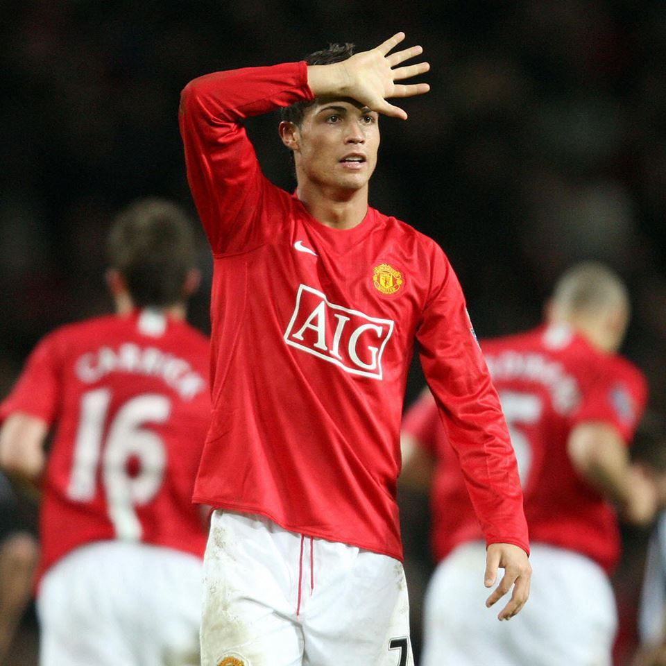 Cristiano Ronaldo Scores His First And Only Man Utd Cristiano Ronaldo Ronaldo Football Updates