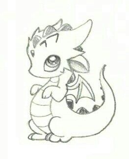 Easy Baby Dragon Drawings For Kids : dragon, drawings, Alissa, Hanson, Dragons, Dragon, Drawings,, Drawing,, Sketch