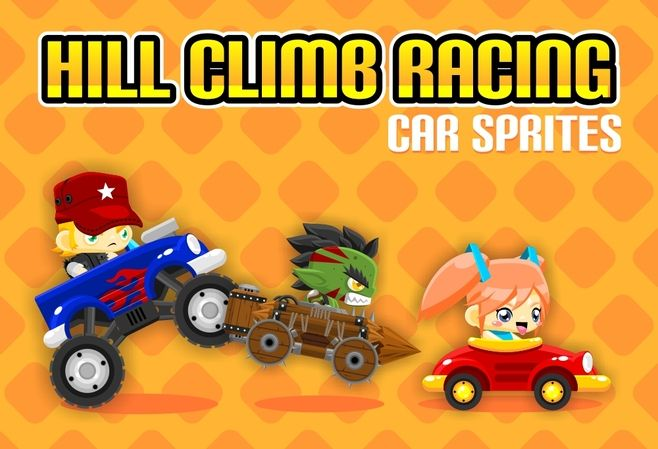 Create your 2d physics hill climb racing game with this 3
