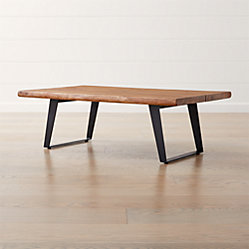 Yukon Natural Coffee Table Reviews Crate And Barrel Dining