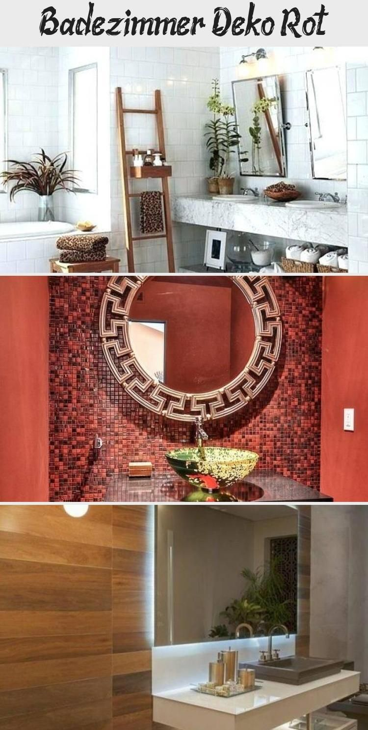 badezimmer deko rot  badezimmer dekor badezimmer deko