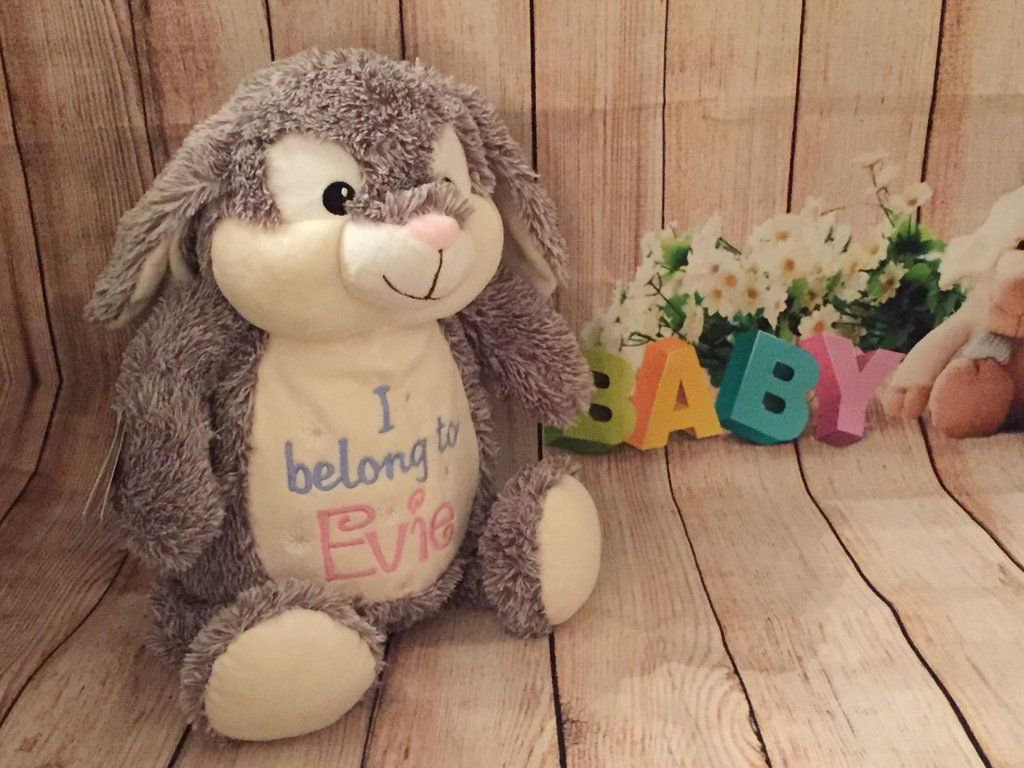 Baby Cubbies Personalised Embroidered Teddy Bear Bunny Rabbit