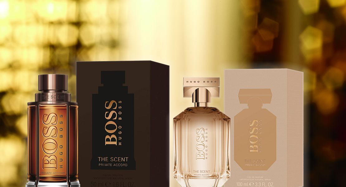 Boss The Scent Private Accord For Him And Her Reastars Perfume And Beauty Magazine Boss The Scent The Perfume Shop Perfume