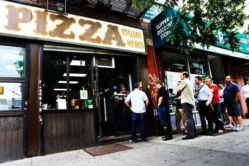 Is This New York Cityu0027s Best Pizza? Pizzas, Yahoo travel and City - new blueprint brooklyn menu
