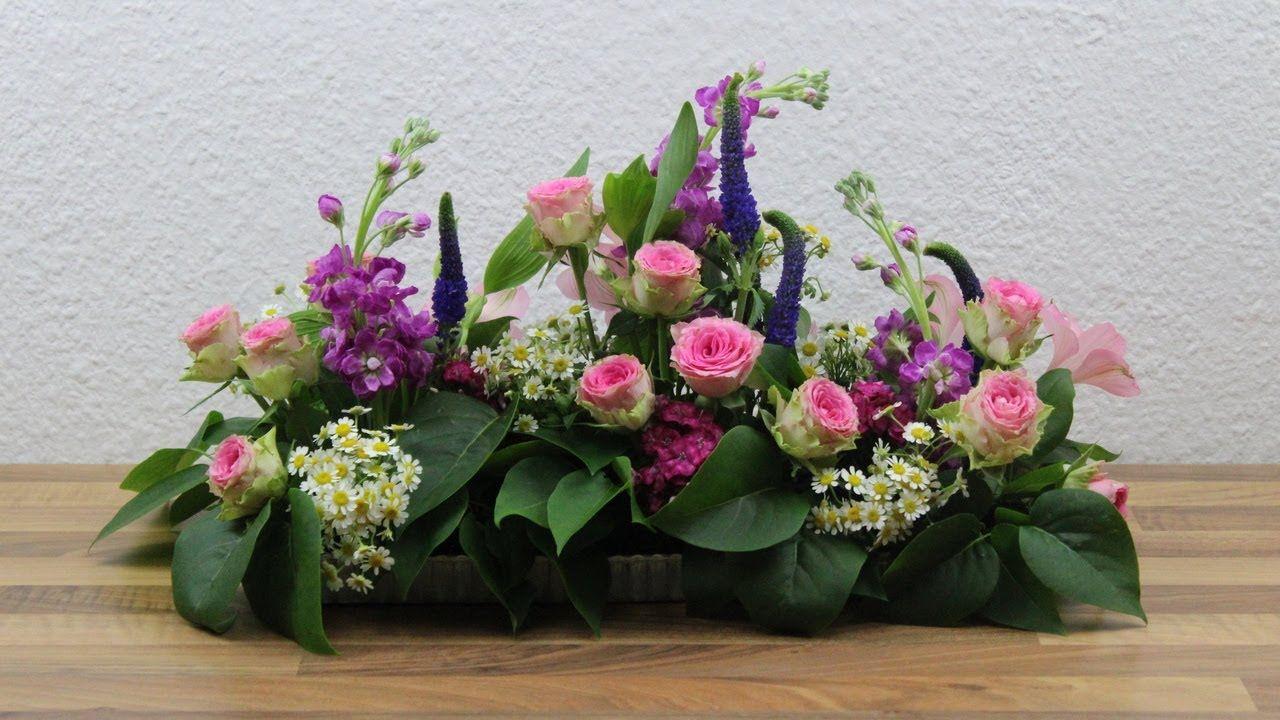 Blumendeko Hochzeit Selber Machen Floristik Video Anleitung Blumengesteck Blumengestecke Blumen Gestecke Blumengestecke Hochzeit