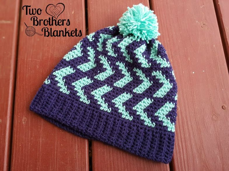 Free Crochet Pattern- Halifax Hat! – Two Brothers Blankets ...
