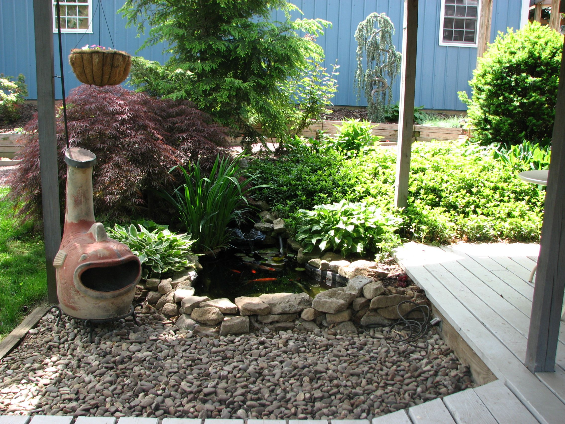 Fish pond designs pictures - Small Fish Pond Landscape Area You Can See The Small Fish Pond