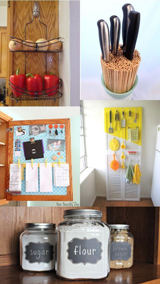 Diy Organization Ideas For Kitchen