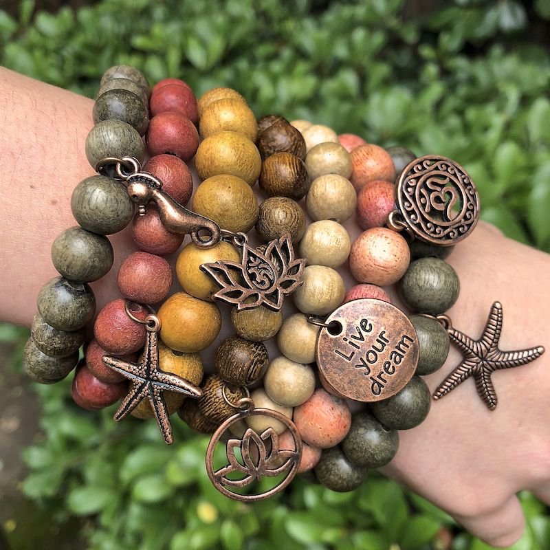 Boho beach diy bracelets beaded bracelets beaded