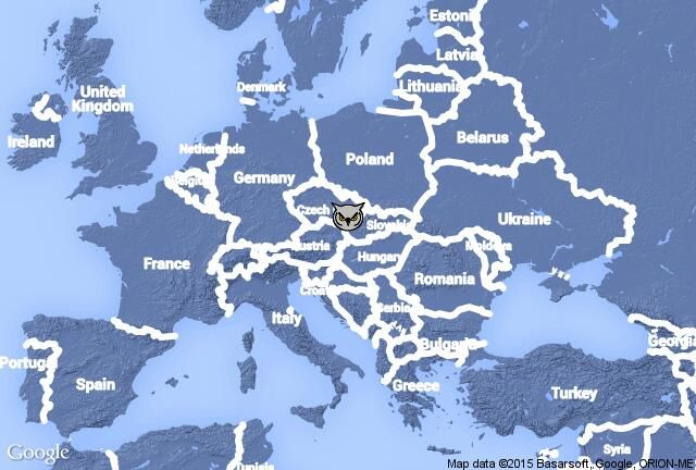 Europe: Countries - Map Quiz Game