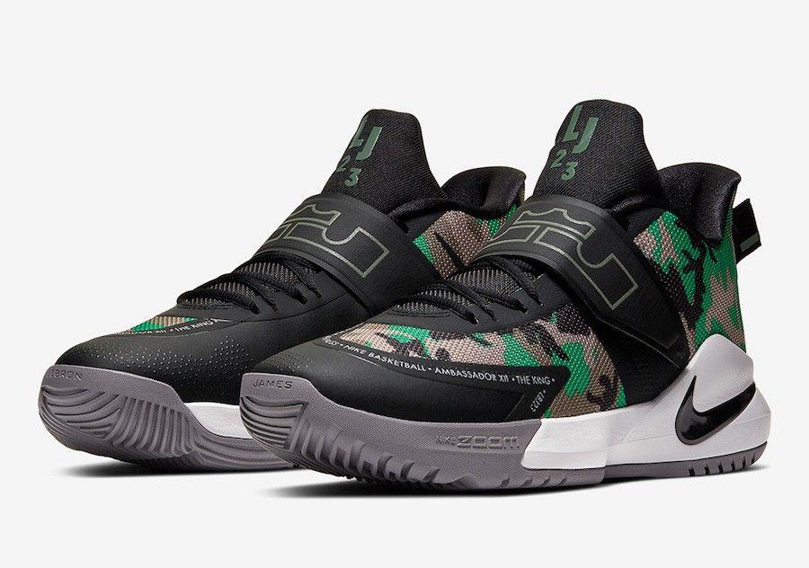 Nike LeBron Ambassador 12 Nike lebron, Nike basketball