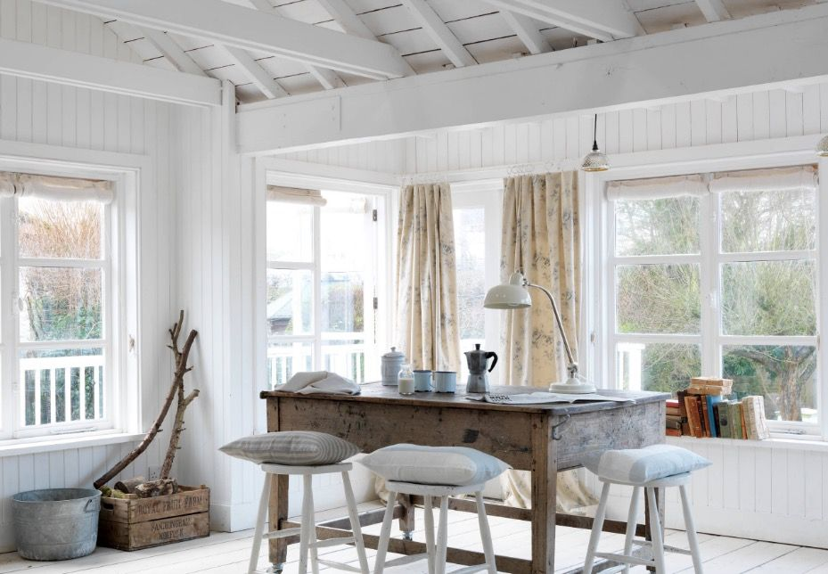 Defining A Style Series What Is Cottage Style Design Farmhouse Dining Rooms Decor Shabby Chic Room Decor Small Cottage Interiors