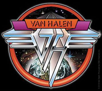 Van Halen Space Logo Sticker in 2020 Van halen, Rock