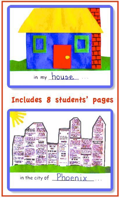 My place in the world mapping skills collage book map skills my place in the world mapping skills collage book gumiabroncs Choice Image