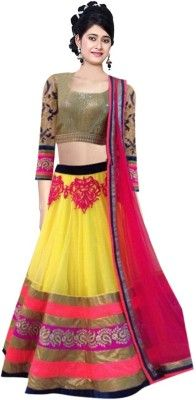 e19fb9b75831a Greenvilla Designs Embroidered Women s Lehenga Choli(Stitched ...