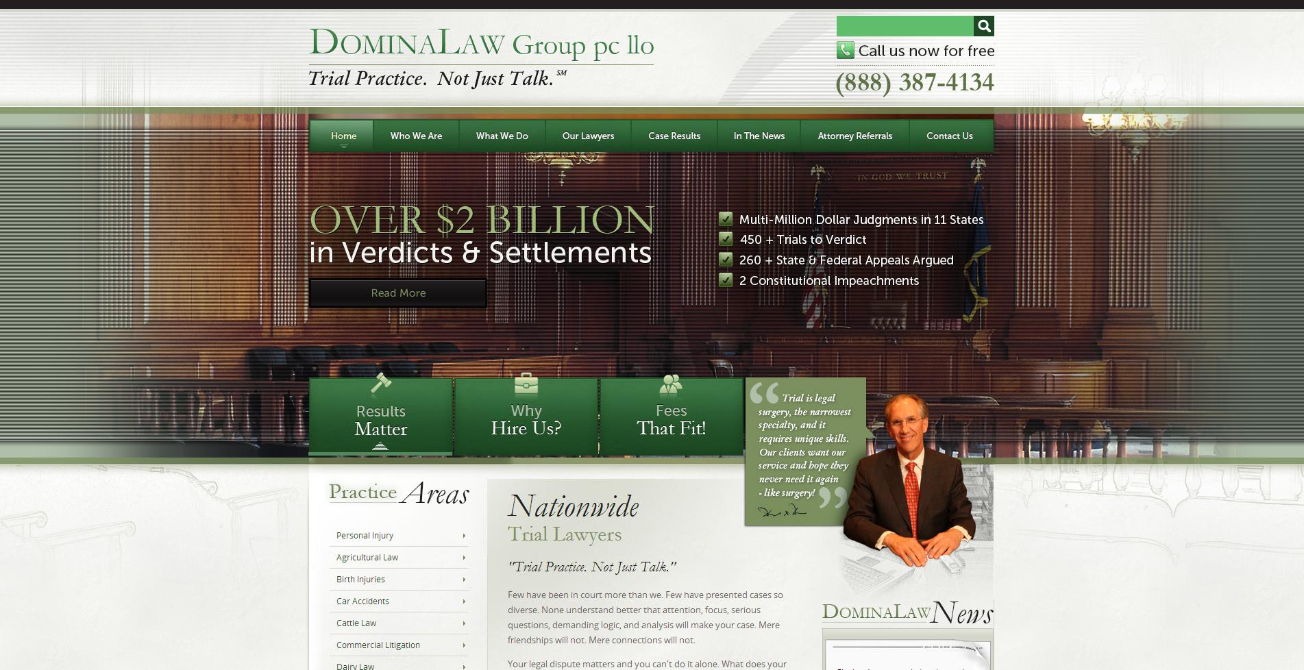 Nebraska Personal Injury Attorney Domina Law Group www.dominalaw.com