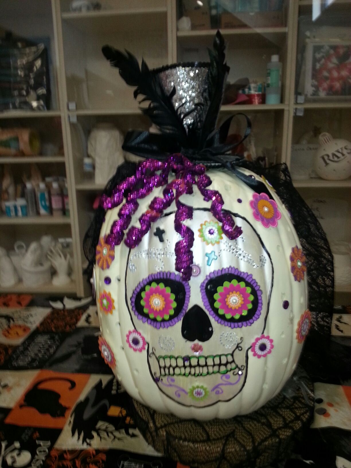Day of the Dead #8 - Pumpkin Decorating Workshop at Heritage Pines Country Club