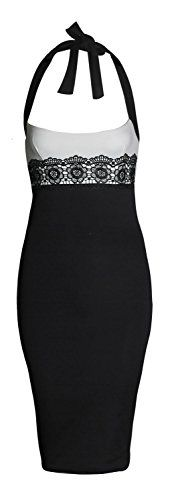 Forever Womens Celebrity Inspired Halter Neck Lace Bodycon Midi Dress Forever http://www.amazon.com/dp/B00U3FKWJG/ref=cm_sw_r_pi_dp_8nCovb0PEBB3A