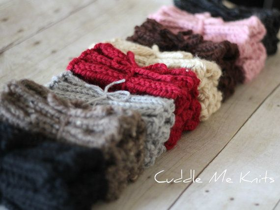 Knit Boot Cuffs On Sale Chunky Ribbed Boot Socks By Cuddlemeknits