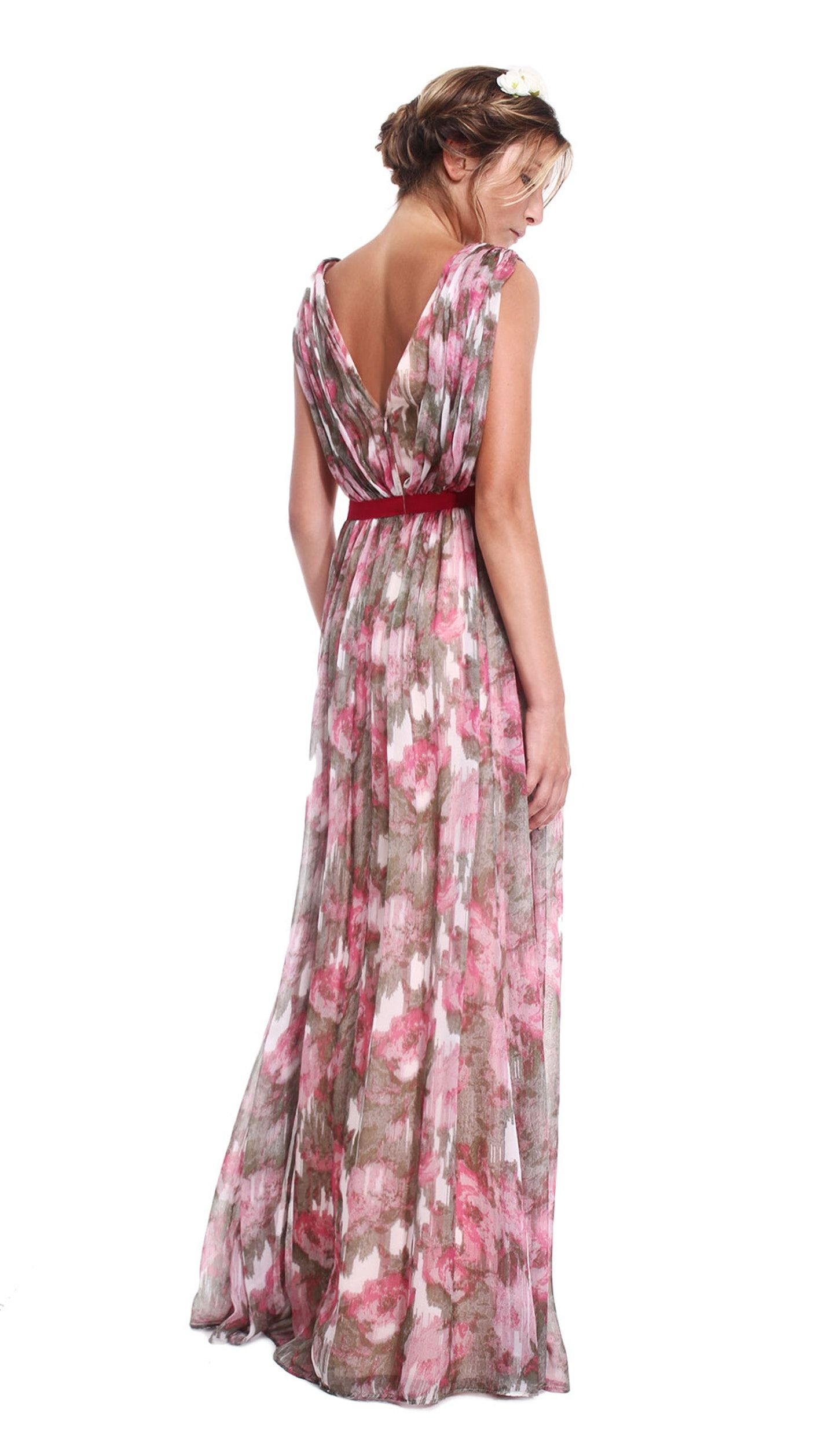 Floral haze gown matthew williamson hire dresses long dresses hire this amazing matthew williamson design with stunning floral haze print for the perfect summer maxi gown hire bridesmaid dresses and floor length d ombrellifo Images