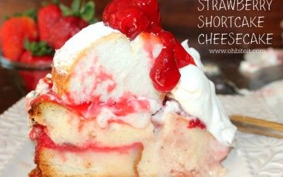 ~Strawberry Shortcake Cheesecake!