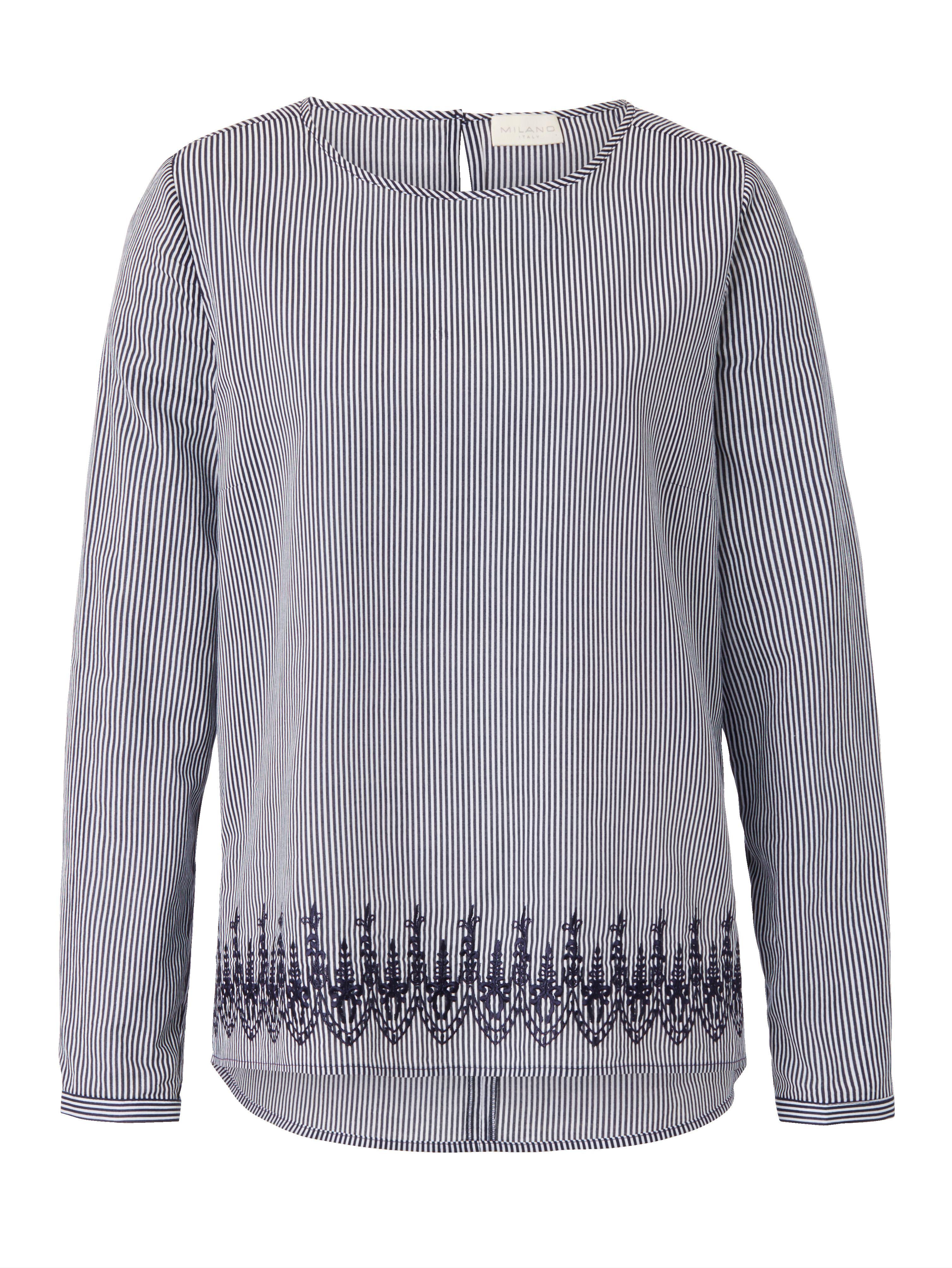 Impressionen De wohndesign bekleidung italy bluse 100 baumwolle