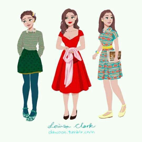 Louisa Clark Yo Antes De Ti Ropa Para Dibujar Bocetos Bonitos Trajes De Películas