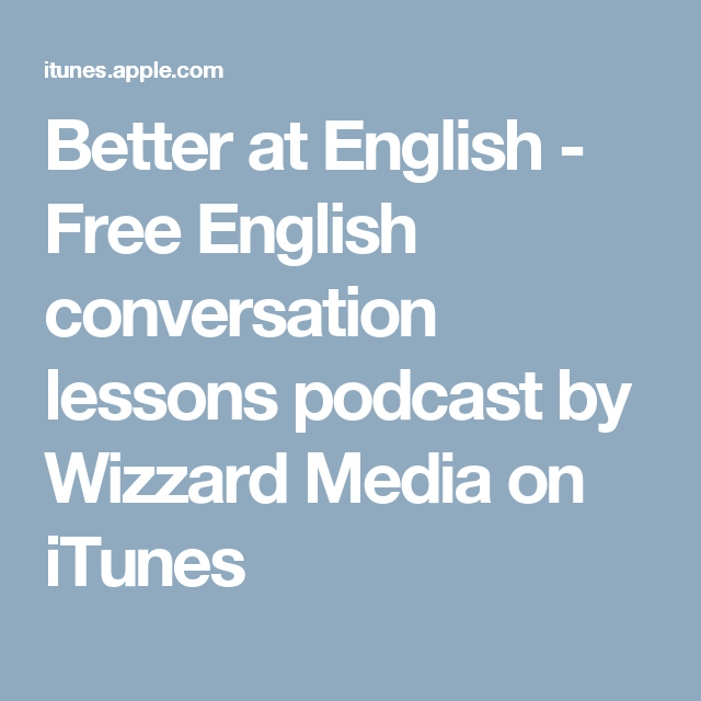 Better at English Free English conversation lessons