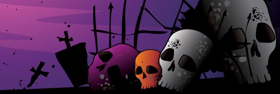 Halloween Fb Cover 2020 Halloween Skulls Facebook Cover | Halloween facebook cover