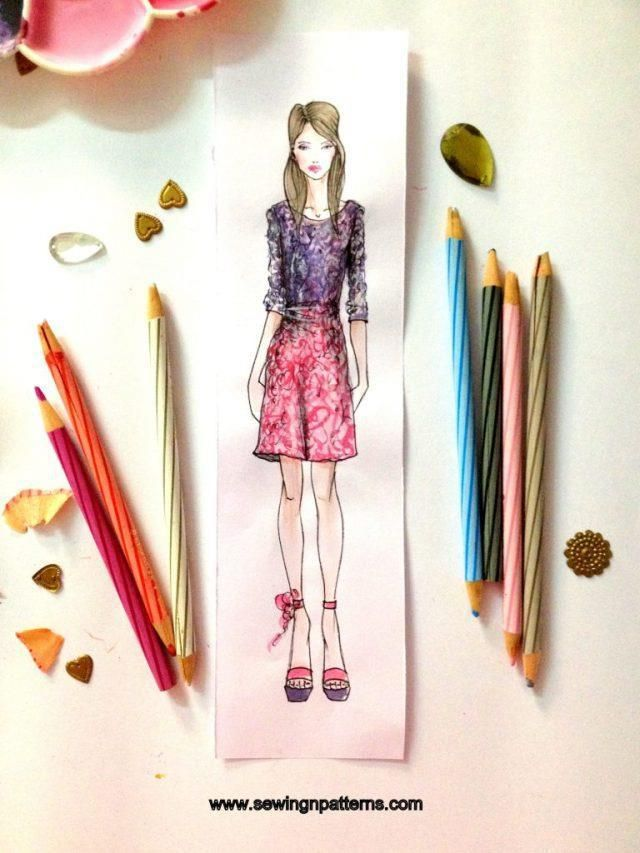 How To Color Fashion Design Sketches Quick And Easy Tutorial Fashion Design Sketches Fashion Design Sketchbook Quick Fashion Illustration