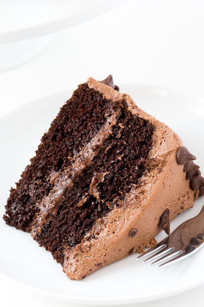 The BEST Chocolate Cake Recipe! (Rich & Moist) - Chef Savvy