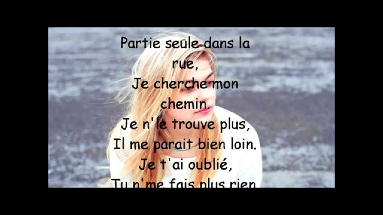 LOUANE - Avenir Paroles ( LYRICS VIDÉO )