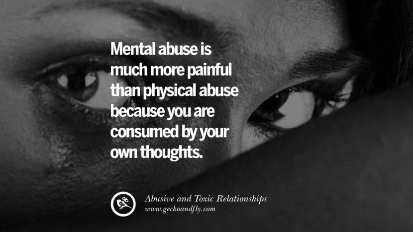 Relationships in mental abuse Emotional Abuse