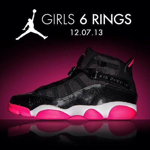 Available 12 7 13- Jordan  6 Rings (Girls 5fd121846e