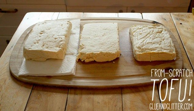 Making tofu from scratch is a lot of work, but it's also a lot of fun, if you have the time!