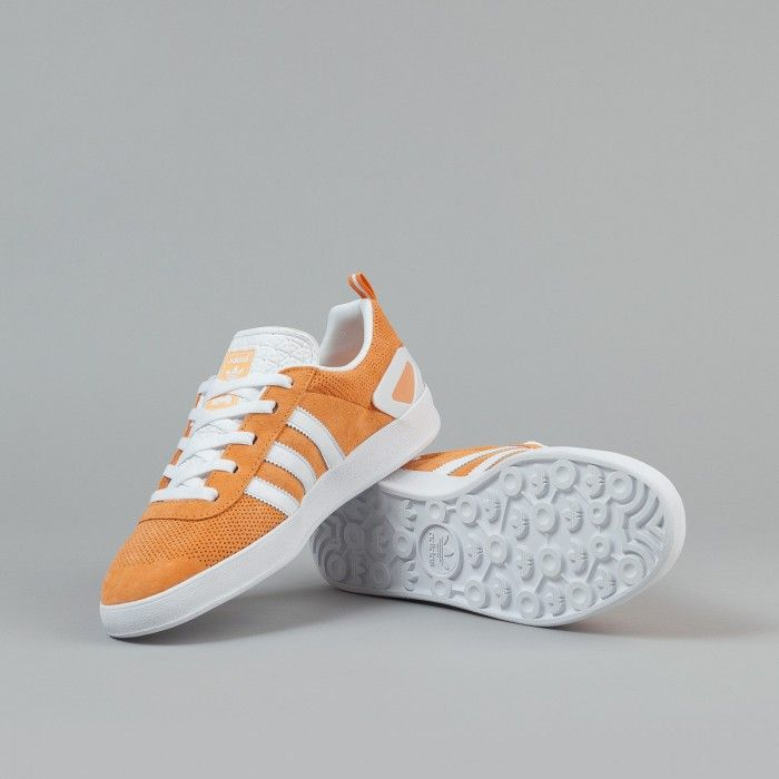 4df7003d Adidas X Palace Pro Shoes - Pumpkin / White / Gold | Sneakers ...
