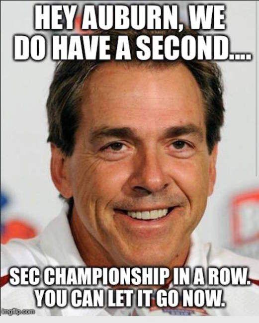 Best Sec Football Memes From Championship Week Alabama Crimson Tide Football Alabama Roll Tide Alabama Crimson Tide
