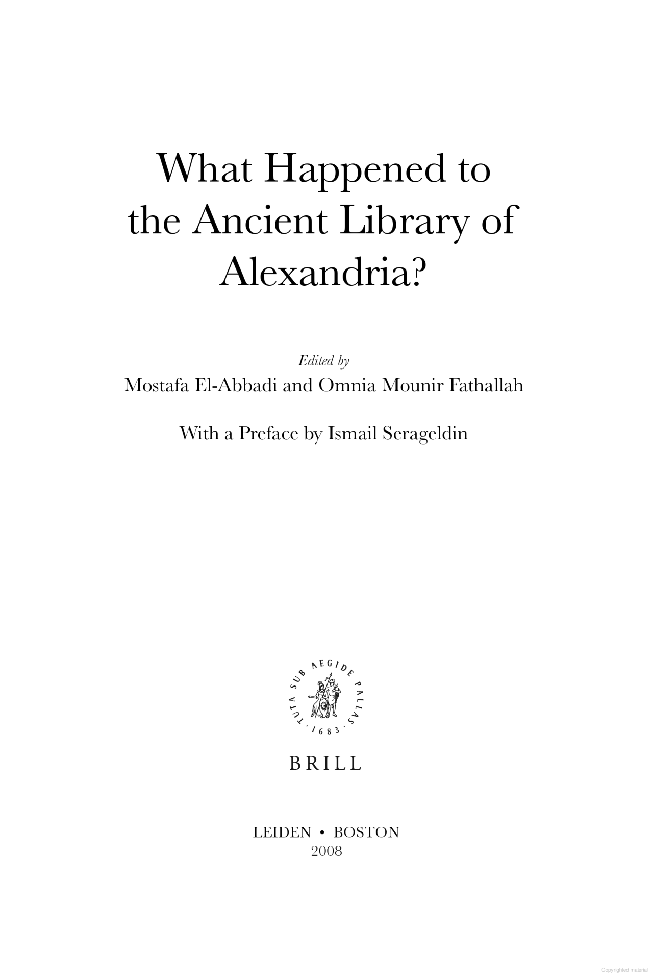 SECONDARY SOURCE What Happened To The Ancient Library Of Alexandria Essay Outline Template