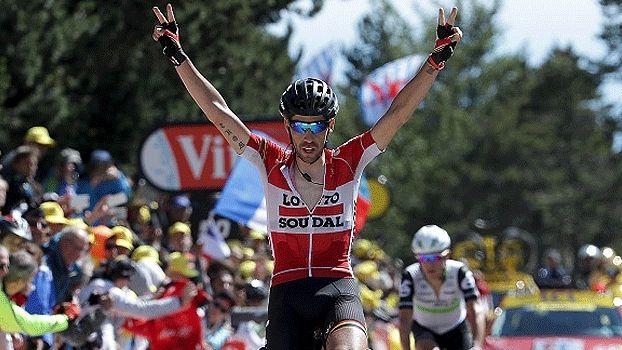 Veja as imagens da 12ª etapa do Tour de France, vencido por Thomas de Gendt